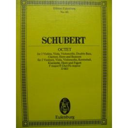 SCHUBERT Franz Octet D 803 Orchestre