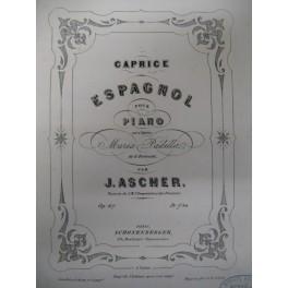 ASCHER Joseph Caprice Espagnol piano