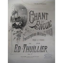 THUILLIER Edmond Chant du Bivouac piano