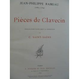 RAMEAU Jean-Philippe Pièces de Clavecin 1895