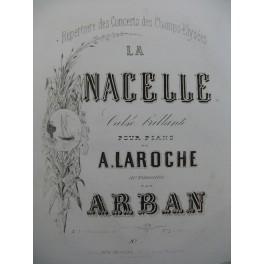 ARBAN La Nacelle Piano XIXe siècle