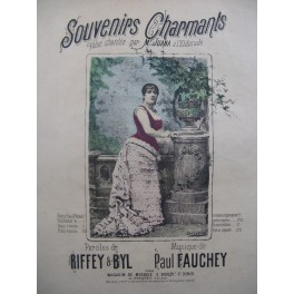 FAUCHEY Paul Souvenirs Charmants Chant Piano