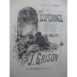 GRISON J. L'Espérance Chant Piano