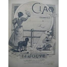 JOUVE Edouard Ciao Piano 1896