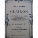 BABAULT Jules Méthode de Clairon 1951