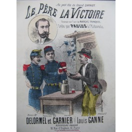 GANNE Louis Le Père la Victoire Chant Piano
