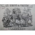 LAZENNEC I. Les Binions du Finistère Piano XIXe siècle
