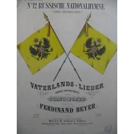 BEYER Ferdinand No12 Russische Nationalhymne Piano ca1850