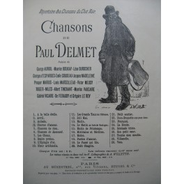 DELMET Paul Charme d'Amour Chant Piano 1898