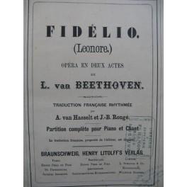 BEETHOVEN Fidelio ROSSINI Le Barbier de Séville Opéra Chant Piano XIXe
