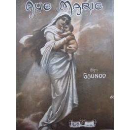 GOUNOD Charles Avé Maria Chant Piano