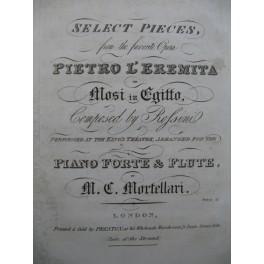 ROSSINI G. Select Pieces from Pietro l'Eremita Piano ca1830