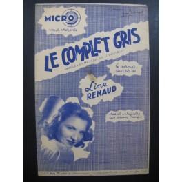 Le Complet Gris Line Renaud Louis Gasté 1945