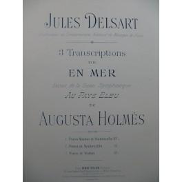 HOLMÈS Augusta En Mer Au Pays Bleu Piano Violon Violoncelle ca1895