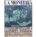 GUERRERO J. La Monteria Chant Piano 1923