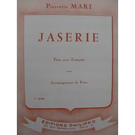 MARI Pierette Jaserie Trompette Piano