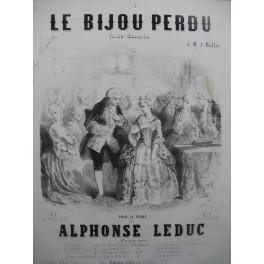 LEDUC Alphonse Le Bijou Perdu Piano 1857