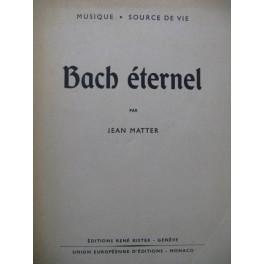 MATTER Jean Bach éternel 1953