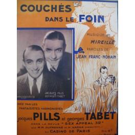 MIREILLE Couchés dans le Foin Chant Piano 1932