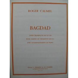 CALMEL Roger Bagdad Piano Trompette 1971