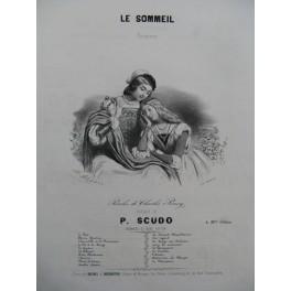 SCUDO Paul Le Sommeil Chant Piano ca1840