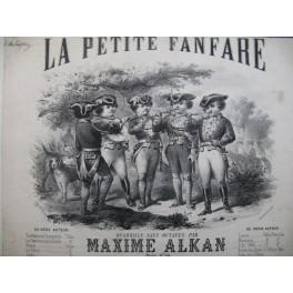 ALKAN Maxime La Petite Fanfare Quadrille Piano 1868