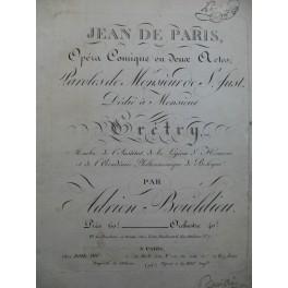 BOIELDIEU Adrien Jean de Paris Opéra Orchestre 1812