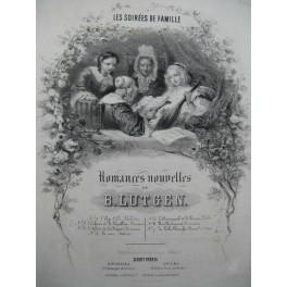LUTGEN B. L'Enfant et le Papillon Chant Piano 1857