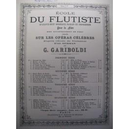 HERMAN Adolphe La Petite Mariée flute piano 1876