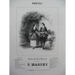 MASINI F. Partez Chant Piano 1843