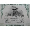 LONGUEVILLE Alphonse Le Roi des Enfers Quadrille Infernal Nanteuil Piano 1853