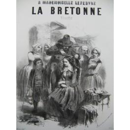La Bretonne de Gustave JANET Illustration XIXe siècle