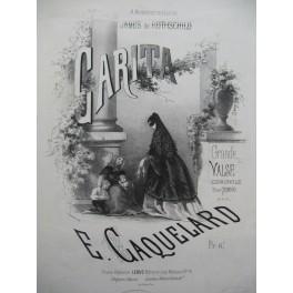 CAQUELARD E. Carita Piano 1865