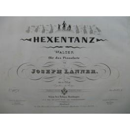 LANNER Joseph Hexen Tanz Piano ca1843