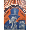 MORETTI Raoul Oh ! Mademoiselle Chant Piano 1924