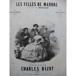 BIZOT Charles Les Filles de Marbre Piano XIXe siècle