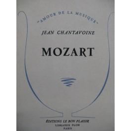 CHANTAVOINE Jean Mozart 1949