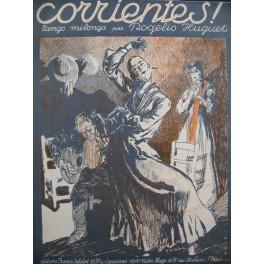 HUGUET Rogelio Corrientes Tango Milonga Piano 1923