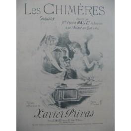PRIVAS Xavier Les Chimères Chanson Piano
