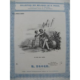 PROCH Heinrich Le Cor des Alpes Chant Piano ca1840