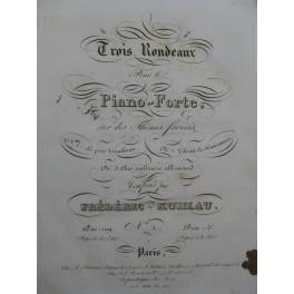 KUHLAU Frédéric Le petit Tambour Rondeau Piano ca1830