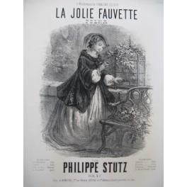 STUTZ Philippe La Jolie Fauvette Piano ca1865