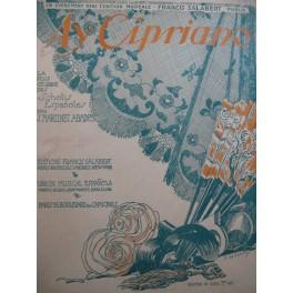 MARTINEZ ABADES J. Ay Cipriano Chant Piano 1916