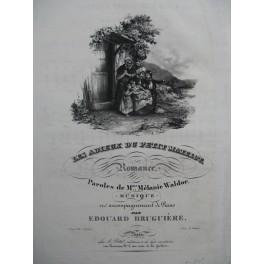 BRUGUIERE Edouard Les Adieux du Petit Matelot Chant Piano ca1840