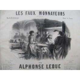 LEDUC Alphonse Les Faux Monnayeurs Piano ca1850