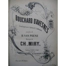 MIRY Charles Bouchard d'Avesnes Opéra Chant Piano XIXe