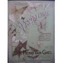 VAN GAEL Henri Les Papillons Une Fête à Tarente Piano ca1900