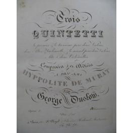 ONSLOW George Quintettes 1er Violon ca1810