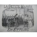 ETTLING Em. La Petite Mariée Piano ca1850