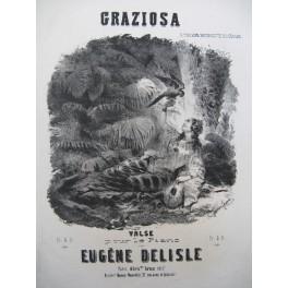 DELISLE Eugène Graziosa Piano ca1850